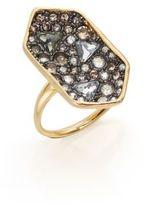 Alexis Bittar Elements Crystal Shield Ring