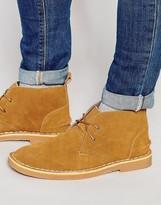 Bellfield Chukka Boots In Suede
