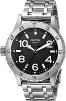 Nixon Women's A410000 38-20 Analog Display Japanese Quartz Silver Watch