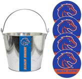 NCAA Boise State Broncos Metal Drink Bucket & Paper Coaster 5-piece Set
