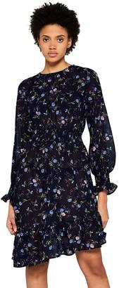 Find. Amazon Brand Women's Floral Asymmetric Dress