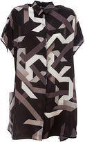 Neil Barrett Pattern Short Dress