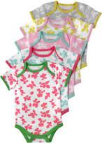 Cath Kidston Mono Strawberries Baby 5 Pack Bodysuit