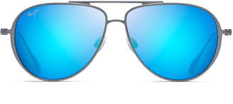 Maui Jim Men's Shallows Polarized Lightweight Titanium Sunglasses