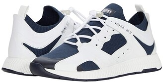 HUGO BOSS Titanium Runn Sneakers (Open Blue) Men's Shoes