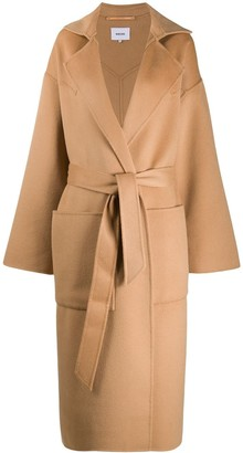 Nanushka Alamo oversized robe coat