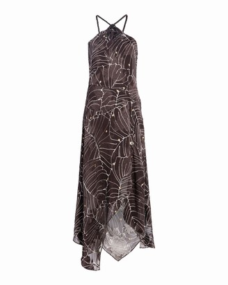 Yigal Azrouel Hand Drawn Floral Dress