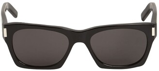 Saint Laurent Sl 402 Squared Acetate Sunglasses