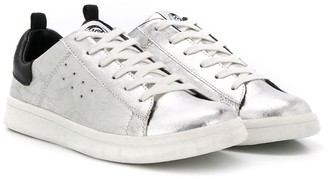 Diesel Lace-Up Low-Top Sneakers