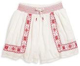 Ralph Lauren Girls 7-16 Toddlers, Little Girls and Girls Smocked Shorts