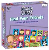 University Games Brain Quest Find Your Friends Game