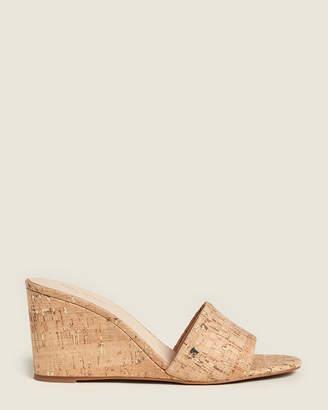 Kate Spade Natural Linda Cork Wedge Sandals