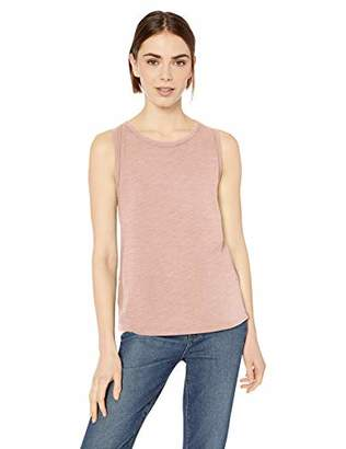 Daily Ritual Lightweight Lived-in Cotton Crewneck Muscle T-shirtUS M (EU M - L)