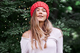 aerie Cable Sweater Beanie