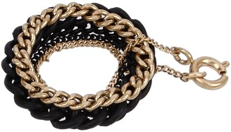 AllSaints Set of 5 Chain Link Rings