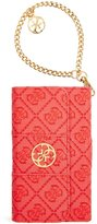 GUESS Red La Vida Logo Galaxy S5 Book-Type Wristlet