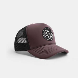 James Perse Wave Patch Scuba Trucker Hat