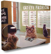 Cat Eye Stupell The Stupell Home Decor Collection Persian Glasses Exam Funny Painting
