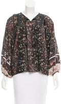 Ulla Johnson Silk Floral Top w/ Tags