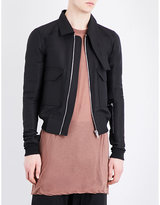Rick Owens Asymmetric Collar Jacket