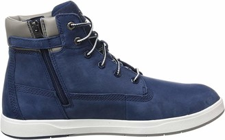 Timberland Unisex Kids' Davis Square 6 Inch (Toddler) Classic Boots