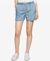 Calvin Klein Jeans Denim Drawstring Shorts