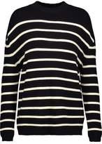MiH Jeans Breton Striped Merino Wool Sweater