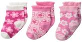 Jefferies Socks Dancing Daisy 3-Pack (Infant/Toddler)