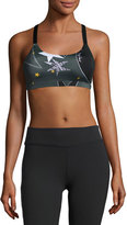 Beyond Yoga Lux Triple Strap Sports Bra, Winter Solstice