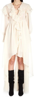 Philosophy di Lorenzo Serafini Asymmetric Ruffled Dress