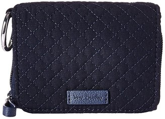 Vera Bradley Iconic RFID Card Case (Classic Black) Wallet