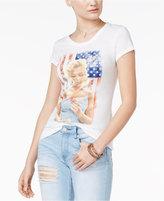 Hybrid Juniors' Marilyn Monroe Graphic T-Shirt