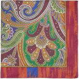 Etro Pailsey Silk Pocket Square