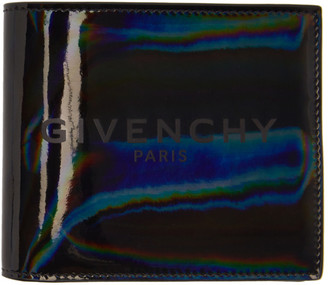 Givenchy Grey Iridescent Bifold Wallet