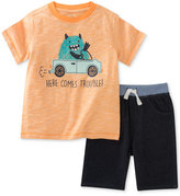 Kids Headquarters 2-Pc. Graphic-Print T-Shirt and Shorts Set, Baby Boys (0-24 months)