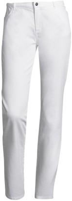 Lafayette 148 New York Yarn Dye Mid-Rise Denim Wooster Jean