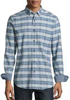 Nautica Button-Down Cotton Check Shirt
