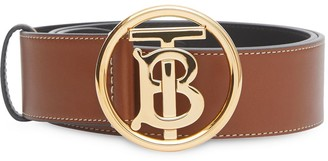 Burberry TB buckle belt