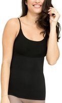 Spanx Womens Smoothes Wicking Shaping Camisole Black S