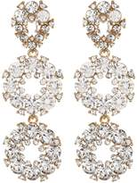 Natasha Accessories Crystal Circle Earrings