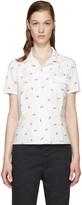 Visvim White Poplin Printed Shirt
