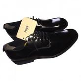 Fendi Patent leather derby shoes