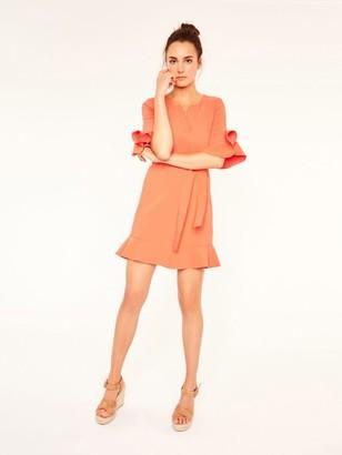Suncoo Candice Dress - 8 - Orange