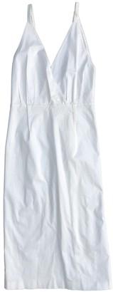Tome White Cotton - elasthane Dress for Women