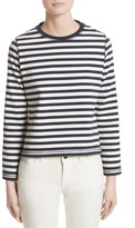 Belstaff Women's Christina Stripe Cotton Sweater