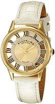 Stuhrling Original Women's 890L.02 Vogue Analog Display Swiss Quartz Champagne Watch