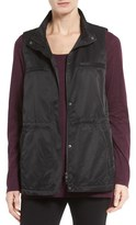 Eileen Fisher Organic Cotton Blend Vest (Regular & Petite)
