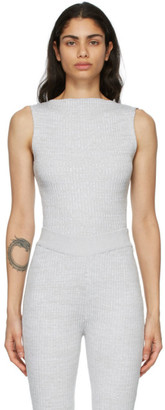 ANNA QUAN Grey Lena Tank Top