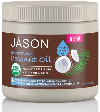 Jason Smoothing Coconut Oil For Skin, Hair And Nails 443Ml
