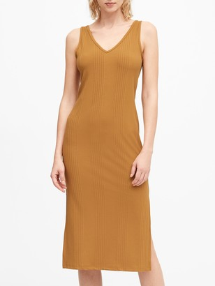 Banana Republic Ribbed Tank Dress